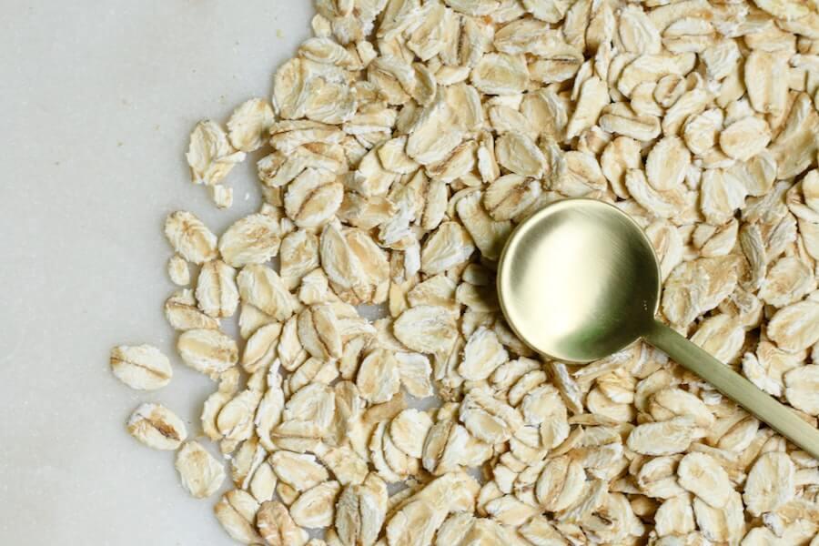 オートミール押し麦の栄養素